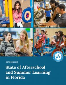 October 2019- State of Afterschool and Summer Learning in Florida